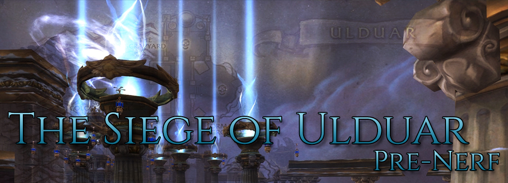 Angrathar: Ulduar Pre-Nerf, 1st part - The Siege of Ulduar!